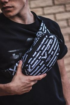 Сумка на пояс Custom Wear Triada Wall Black (383)