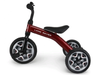 Детский велосипед Rastar Land Rover 2 in 1 Balance Bike & Tricycle Foldable, Red