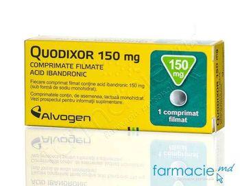 купить Quodixor 150 mg comp. film. 150 mg N1(LPH) в Кишинёве