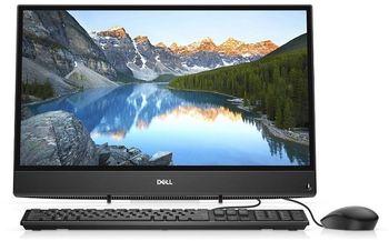 "AIl-in-One PC - 21.5"" DELL lnspiron 3277 FHD IPS, Intel® Pentium® 4415U (Dual Core, 2.3GHz, 2MB), 4GB DDR4 RAM, 1TB HDD, no DVD, Intel® HD Graphics 610, HD Webcam, Fixed Stand, Wi-Fi-AC/BT4.0, USB KB&MS, Ubuntu, Black"