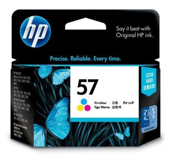 HP No.57 Color Ink Cartridge, 17 ml