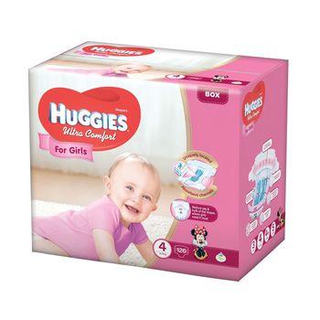 купить Подгузники Huggies Ultra Comfort Mega 4 Girl (8-14 kg) Disney BOX 126 шт в Кишинёве