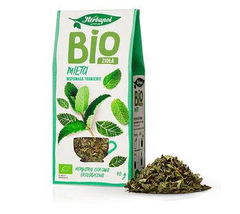 Чай травяной Био Herbapol Mint, 40г