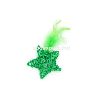 Nobleza Cat Toy звезда с пером