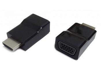 купить Adapter HDMI-VGA Gembird  A-HDMI-VGA-001, HDMI to VGA adapter в Кишинёве