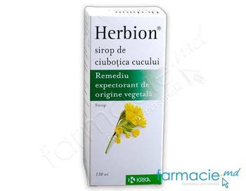 купить Гербион®  сироп с Первоцветом 150мл в Кишинёве