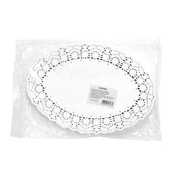 cumpără Șervețel oval ajurat din hârtie, 19*27 cm, 250 buc. în Chișinău