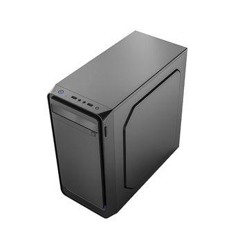 Case Miditower mATX Sohoo 6503BK Black, 500W, 12cm fan, 24 pin, 2xSATA cables, 2xUSB 2.0 & Audio (carcasa/корпус)
