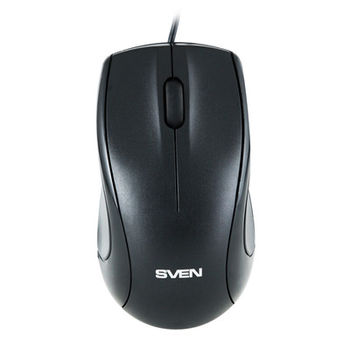 Mouse SVEN RX-150 Optical Mouse, 800dpi, Black, USB