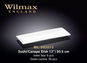 Блюдо WILMAX WL-992015 (для суши и канапе 30,5 см)