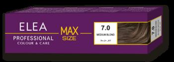 Vopsea p/u păr, SOLVEX Elea Max, 100 ml., 7.0 - Castaniu