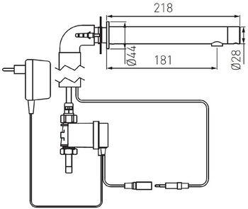 Смеситель для умывальника Ferro Sensor Bora BBB121S