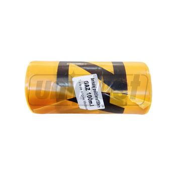 """купить Лента сигнальная П/Э """"GAZ"""" желтая - L=100m (h=150mm, 45mcm) DE в Кишинёве"""