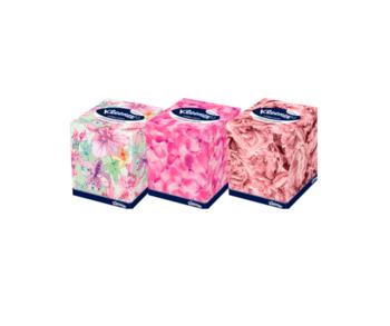купить Салфетки в коробке Kleenex Collection, 100 шт, двухслойные в Кишинёве