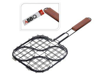 Решетка-гриль для гамбургеров BBQ 21.5Х21.5cm