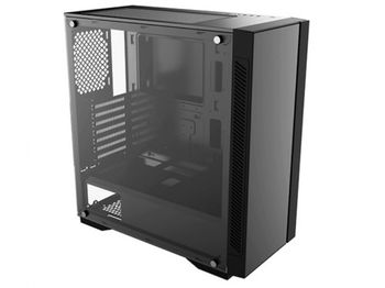 купить Case ATX Deepcool MATREXX 55 V3 ADD-RGB, w/o PSU, Dual 4mm Tempered Glass, RGB, USB3.0, Black в Кишинёве