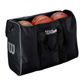 Сумка для мячей Wilson Basketball (6 мячей) TRAVEL BSKT BAG WTB201960 (2269)