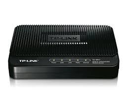 TP-LINK TD-8817, 1 ethernet port and 1 USB port ADSL2+ router with bridge and NAT router, Trendchip chipset, ADSL/ADSL2/ADSL2+, Annex A, with ADSL spliter