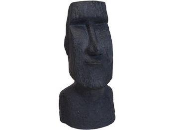 """Статуя """"Фигура Моаи"""" 78X38cm, керамика, черный"""