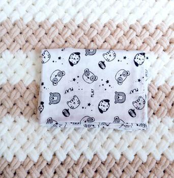Муслиновая пеленка Pampy 100*80 см Bears Play