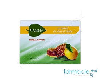 купить Gamma Herbal comp. de supt cu miere si lamiie N24 в Кишинёве