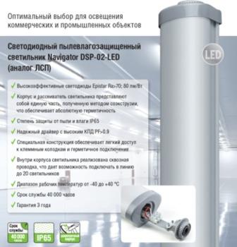 cumpără Felinar industrial Navigator DSP-02-36-6.5K-IP65-LED în Chișinău