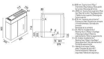 Печь пеллетная с водяным контуром - HYDRO SLIM 16 кВт