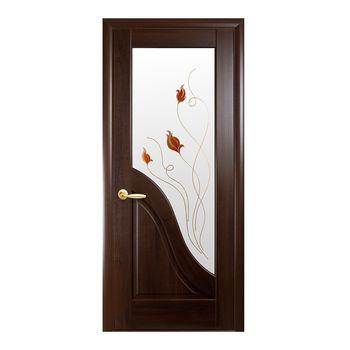 Новый Стиль Дверное полотно Амата каштан 200х70см