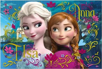 "16255 Trefl Puzzles - ""100"" - Anna and Elsa"