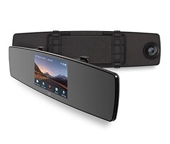 "Xiaomi YI Mirror Dash Camera + Rear camera EU, Full HD vehicle recorder, Wide angle: FOV (D): 138°, f/2.0, WiFi, 4.3"" LCD Touch screen 800x480, FHD@60fps, Processor YI A12, MicroSD up to 64GB"