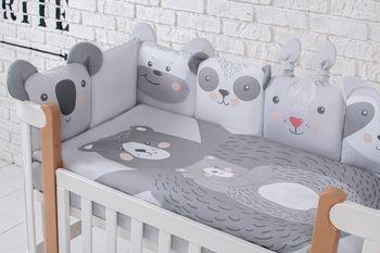 купить Veres Комплект для кроватки Zoo, 6 штк в Кишинёве