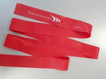 Эспандер ленточный 220 м х 5 см / 1 мм Yakimasport 100287 red, medium (2042)