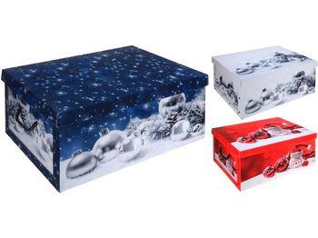 cumpără Cutie pentru cadou de Craciun 51X37X24cm în Chișinău