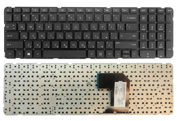 "Keyboard HP Pavilion G7-2000 w/o frame ""ENTER""-small ENG/RU Black"