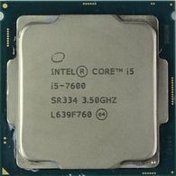 Intel® Core™ i5 7600, S1151, 3.5-4.1GHz, 6MB L3, Intel® HD Graphics 630, 14nm 65W, tray