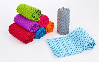 Полотенце для йога-мата 1.83х63 см (микрофибра, силикон) FI-4938 (2800)