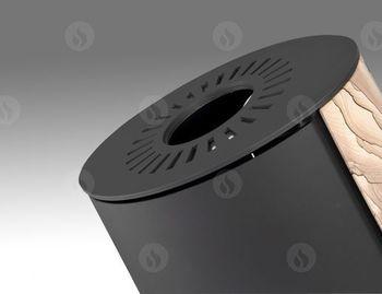 Каминная печь аккумуляционная ROMOTOP EVORA 04 AKUM (песчаник)