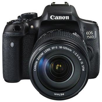 купить Зеркальная фотокамера CANON EOS 750D  18-55 IS STM KIT в Кишинёве