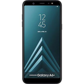 "Samsung Galaxy A6 Plus (2018) 32GB EU Black, DualSIM, 6.0"" 1080x2220 Super AMOLED, Snapdragon 450, Octa-Core 1.8GHz, 3GB RAM, Adreno 506, microSD (dedicated slot), 16MP+5MP/24MP, LED flash, 3500mAh, WiFi-N/BT4.2, LTE, Android 8.0"