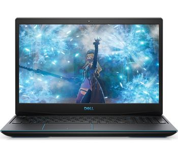 "DELL Inspiron Gaming 15 G3 Black (3590), 15.6"" IPS FHD (Intel® Core™ i5-9300H, 4xCore, 2.4-4.1GHz, 8GB (2x4) DDR4, 256GB M.2 PCIe SSD + 1TB HDD, GeForce® GTX1650 4GB GDDR5, CardReader, WiFi-AC/BT4.1, 3cell,HD720p Webcam, RUS, Ubuntu, 2.34kg)"