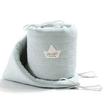 купить Бортики в кроватку LaMillou Velvet Collection Smoke mint в Кишинёве