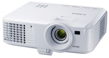 MMProjector Canon LV-WX320, DLP 3D, 16:10 WXGA (1280x800), 10000:1 (full on/full off), 3200Lm, 6000hrs (Eco), 1.1x zoom lens, HDMI and 2x VGA ports, RJ-45 (100BASE-TX / 10BASE-T) port, 10W speaker, Remote control, White, 2.5kg