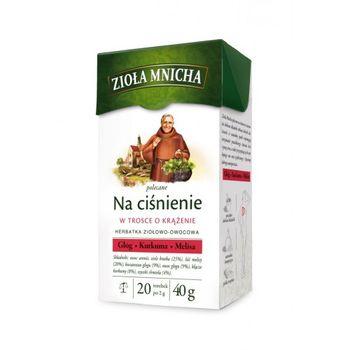 купить Чай Monastic Herbs for Blood Pressure, 20 шт в Кишинёве