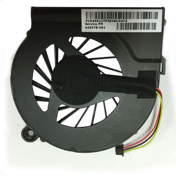CPU Cooling Fan For HP Compaq CQ62 G62 CQ72 G72 (INTEL, Video Discrete) (3 pins)