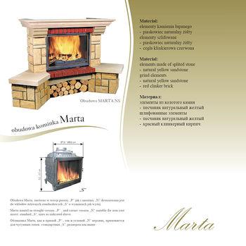 Каминная облицовка - Jabo Marmi MARTA