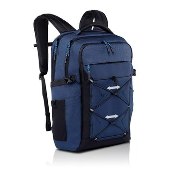 """Dell NB backpack 15.6"""" - Energy Backpack,  perforated compression foam laptop compartment and plush lined tablet pocket. Featuring an enhanced air channel design, the backpack is comfortable to carry, Blue"""