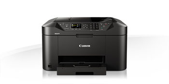 MFD Canon MAXIFY MB2140, Colour Print/Scan/Copier/FAX, ADF(50-sheet),USB Reader,Wi-Fi+Cloud Link,A4,Print 600x1200dpi_2pl,Scan1200x1200dpi,ESAT 24.0/15.5ipm,64-275г/м2,Max.20k pages per month,Paper Input: 250sheets,4-ink tanks PGI-1400/1400XLBK,C,M,Y