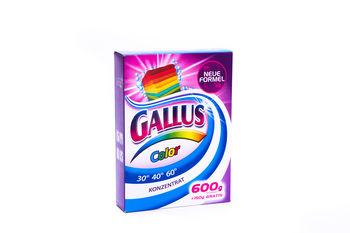Praf pentru spalarea rufelor Gallus 600 g (Color,weiss,universal)