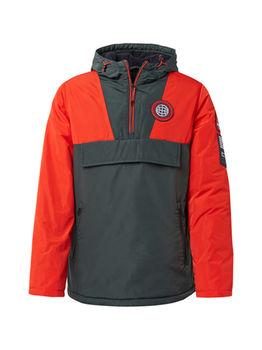 Куртка Tom Tailor Оранжево-красный/темно зеленый tom tailor 1013759