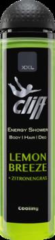 CLIFF - XXL LEMON BREEZE Шампунь-гель для душа Лимонный бриз 300 мл